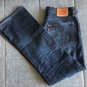 Authentic Levi's Men Jeans W33 L32, 527 tm